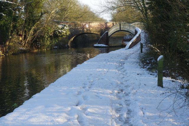 Oxford Canal, Fall's Bridge