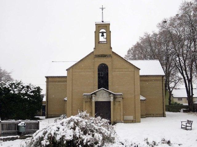 St Swithun's Church in Kennington