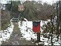 SO8793 : Churchward Grove path by Gordon Griffiths