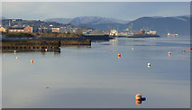 NS3174 : Inverclyde waterfront by Thomas Nugent