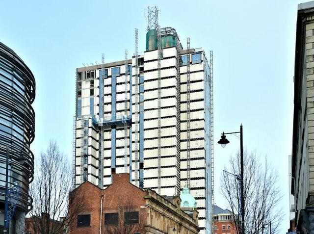 Windsor House redevelopment, Belfast - December 2017(4)