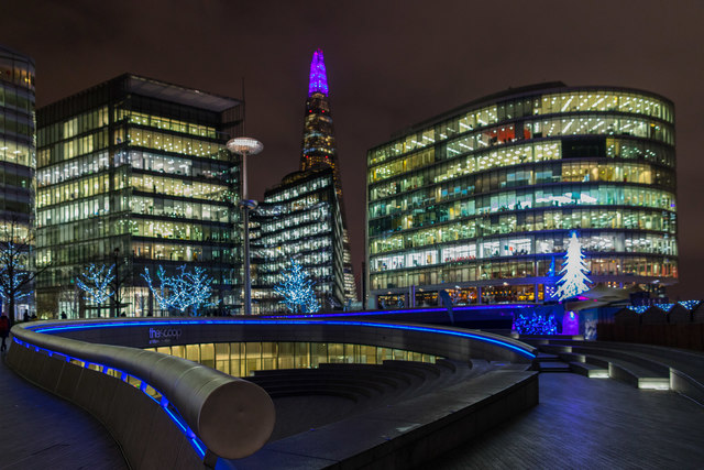 The Festive Shard, London SE1