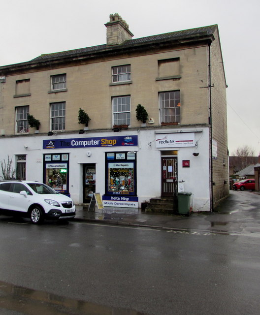 Redkite and the Computer Shop, High Street, Stonehouse