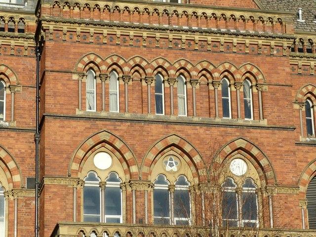 Leeds General Infirmary, main entrance block