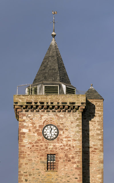 Greenlaw Parish Church Tower