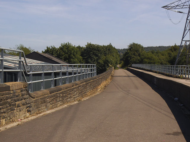 Viaduct over the Calder in Ravensthorpe