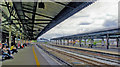 SU7173 : Reading station, Down main platform, 2011 by Ben Brooksbank