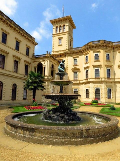 A fountain at Osborne House