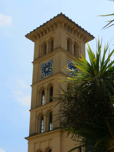 The clocktower at Osborne House