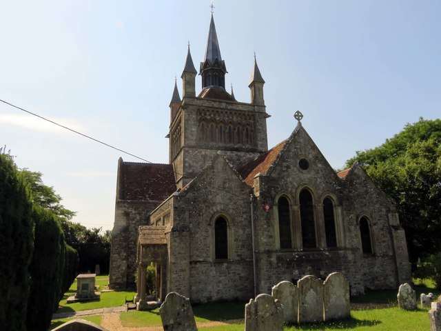St Mildred's church in Whippingham