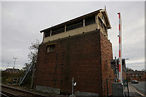 TA2609 : Garden Street Signal Box, Grimsby by Ian S