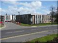 NS3521 : Student flats, Craigie Estate, Ayr by Humphrey Bolton