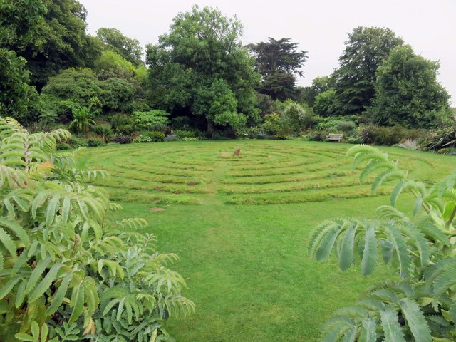 The Turf Maze at Mottistone Manor
