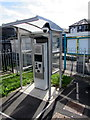 ST0291 : Ticket machine at Porth railway station by Jaggery