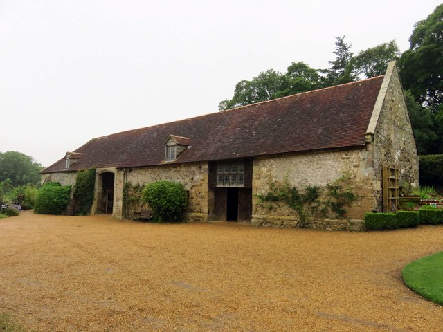 The Entrance Barn at Mottistone Manor