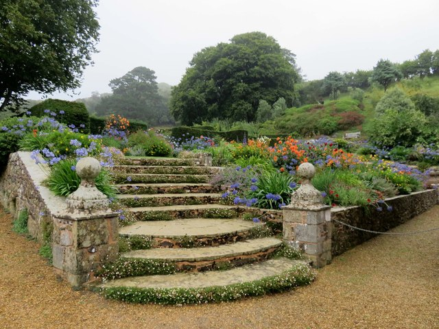 The Steps at Mottistone Manor