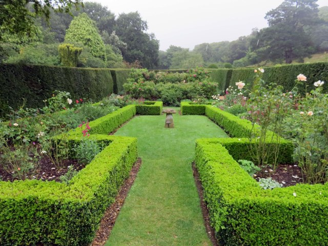 The Rose Garden at Mottistone Manor
