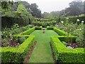 SZ4083 : The Rose Garden at Mottistone Manor by Steve Daniels
