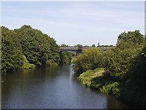 SE2320 : Bridge over the Calder below Scout Hill by Stephen Craven