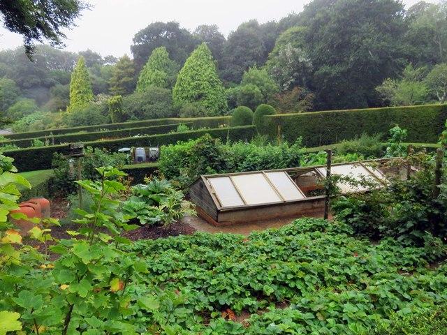 The Kitchen Garden at Mottistone Manor