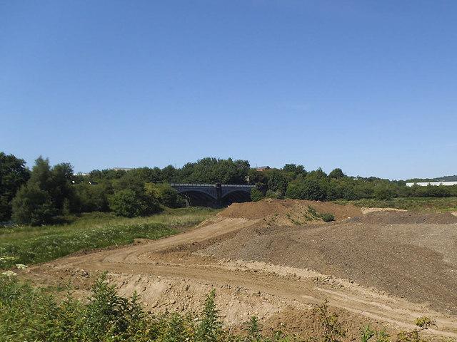Former quarry near Thornhill (1)