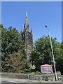 SE2420 : Spire of Holy Innocents church, Thornhill Lees by Stephen Craven