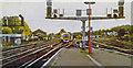 TQ2850 : Redhill station, southward 1994 by Ben Brooksbank