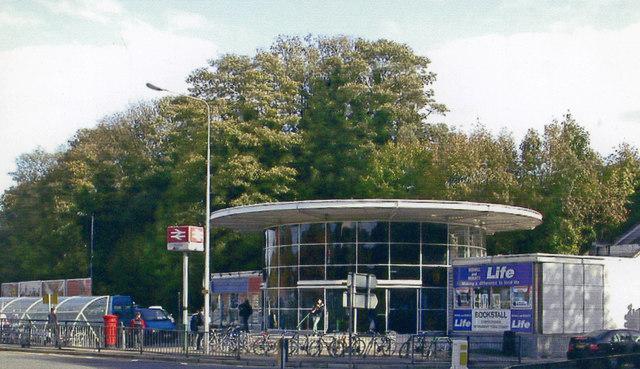 Redhill station entrance, 2004