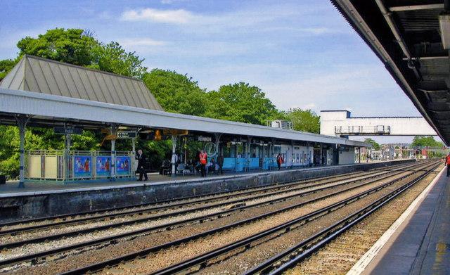 Redhill station, northward 2011