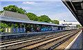 TQ2850 : Redhill station, northward 2011 by Ben Brooksbank