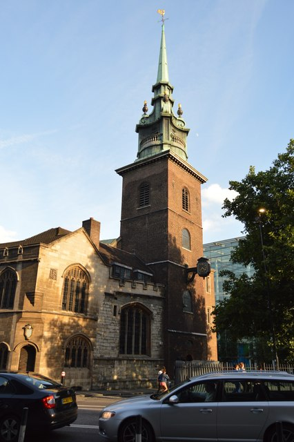 Church of All Hallows by the Tower