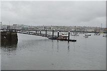 SX4853 : Mount Batten Ferry Pier by N Chadwick