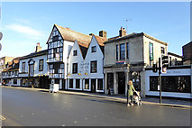 SU1429 : The Chapter House inn and neighbours, St. John's Street, Salisbury by Robin Webster