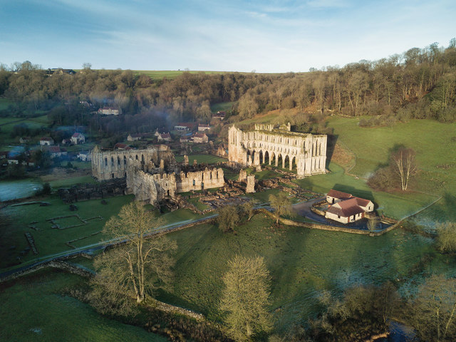 Winter afternoon at Rievaulx