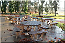 NS2209 : Picnic Tables at Culzean by Billy McCrorie