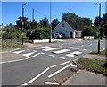 SX9688 : Zebra crossing on a hump, Holman Way, Topsham by Jaggery