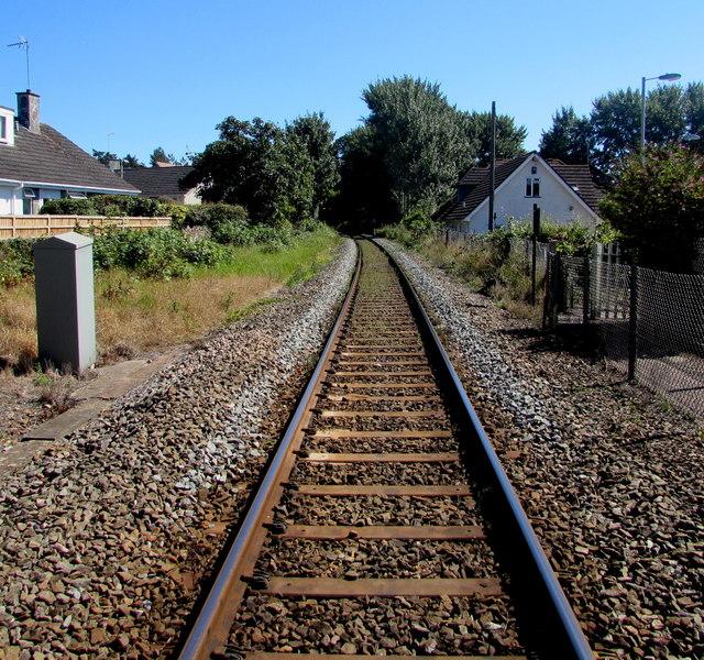 Avocet Line from Topsham towards Exton