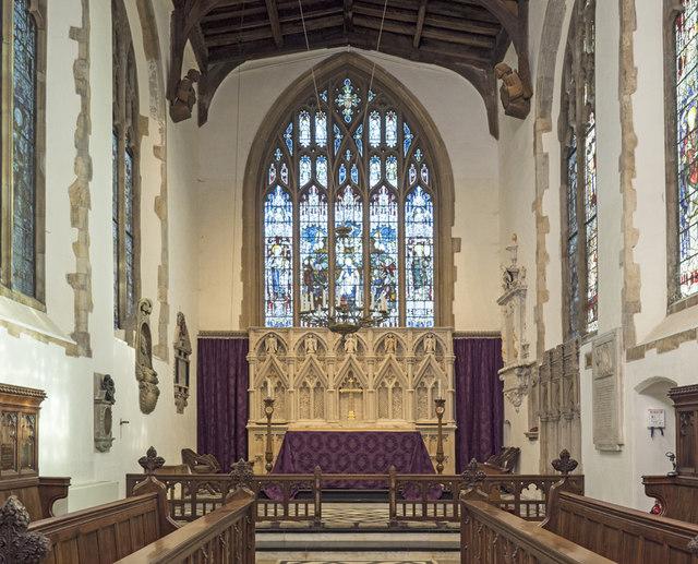 St Mary, Dedham - Chancel