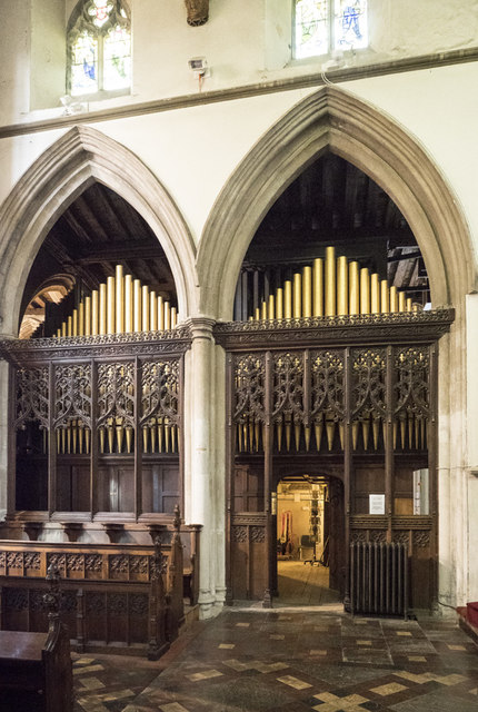 St Peter, Sudbury - Organ