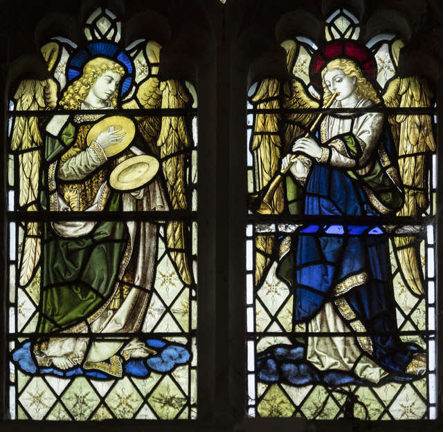 St Peter, Sudbury - Stained glass window