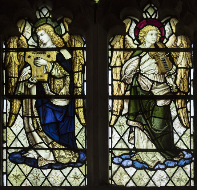 St Peter, Sudbury - Stained glass window