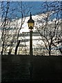 SK3384 : Old gas lamp on Brincliffe Edge Road (II) by Neil Theasby