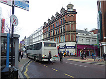J3374 : Narrow building along Royal Avenue, Belfast by Kenneth  Allen
