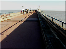 TR3752 : Deal Promenade Pier by John Baker
