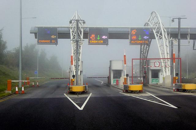 M3 Motorway, Toll Booths at Grange TP