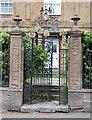 ST4409 : Heraldic gateway by Bill Harrison