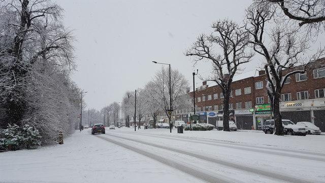 Bramley Road, Oakwood, London N14