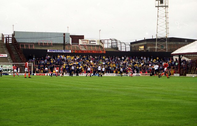 The old Visitors End at Bloomfield Road