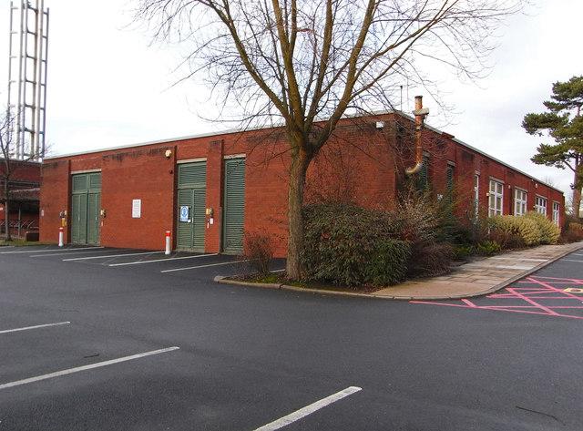 Worcestershire Royal Hospital - estates department