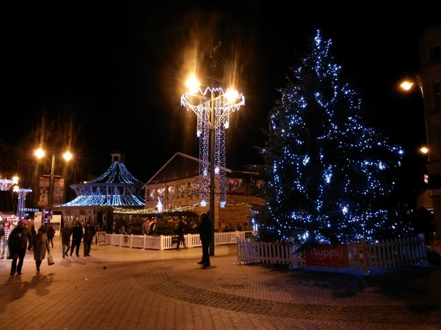 Bournemouth: Christmas 2017 in The Square